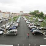 Un parking proche du centre-ville à Dax