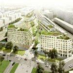 Projection du futur quartier Îlot fertile