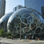 Les Sphères Amazon au siège de l'entreprise à Seattle